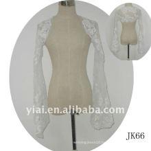 JK66 women Beaded Long sleeves wedding jacket