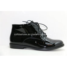 16ss New Comfort Casual Flat Women Chaussures en cuir