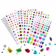 Waterproof Eco- Friendly Mobile Phone Decoration Crystal Rhinestone Sticker