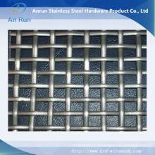 Treillis métallique serti galvanisé pour l'exploitation minière et le charbon