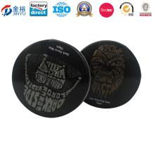 Retro Style Black Metal Tin Can Manufacturer Jy-Wd-2016011205