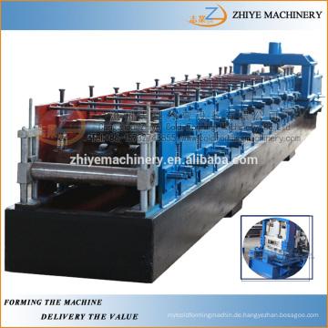 Stahl CZ Pfette Kaltumformung Linie / Metall Z Typ Pfettenwalzen bildenden Mahcine