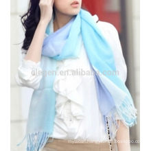 New fashion acrylic gradient color scarf