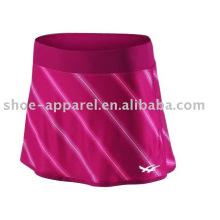 Nouvelle marque pas cher jupes de tennis en polyester échantillon disponible