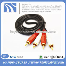 2 RCA to 2 RCA Cable 1.5m,3m,5m,10m