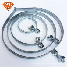 Abrazadera de manguera de alambre doble de acero galvanizado