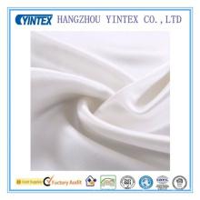 Tela de seda blanca de alta calidad