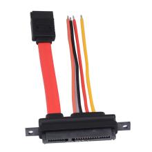SATA 7pin to 7+15pin SATA Cable