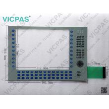 6180P-12KSXP Membranschalter für AB Allen-Bradley 6180P Integrated Display Computer 1200P