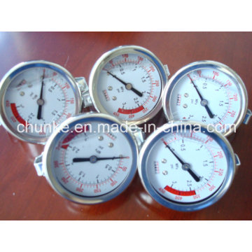 Medidor de presión de agua Accesorios para la planta de tratamiento de agua