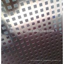 malla de metal perforado / malla de orificio de perforación / hoja de metal performated