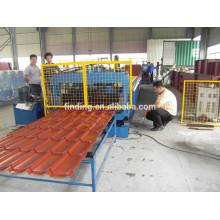 folha do telhado roll folha de Máquina Perfiladeira rolamento da folha da telhadura máquina dá forma à máquina