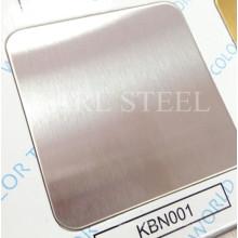 Qualitäts-Edelstahl-Farbblatt für Dekorationsmaterialien