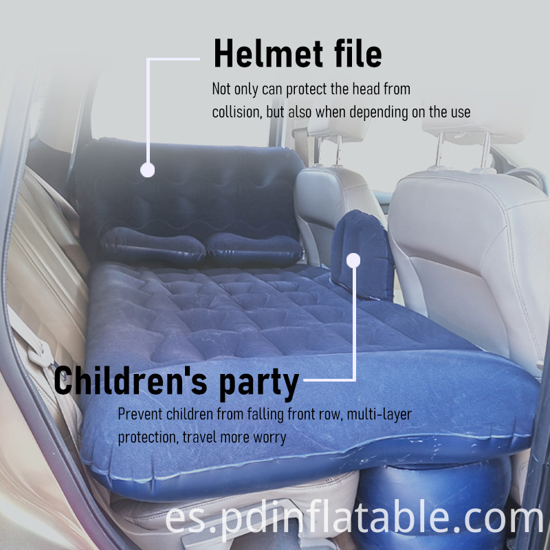 Twin Size Inflatable Car Air Mattress