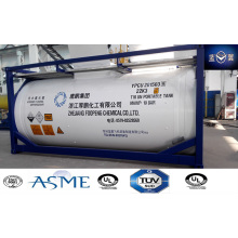 ASME Certified 32 Cube Tank Container for LPG