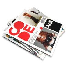 Offset Printing Full Colors Custom Magazine Printing Book Printing
