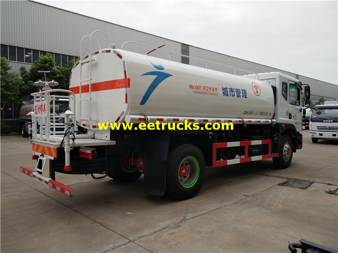 Street Water Tanker Vehicles