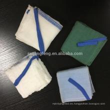 Esponja médica prelavada para uso quirúrgico