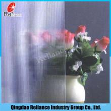 3mm-10mm klares Muster Glas / Figured Glas