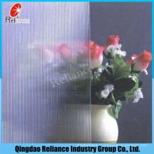 3mm-10mm Clear Pattern Glass / Figure Glass