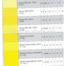 disperse yellow 54 200% For Textile