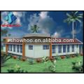 light steel prefab villa frame house luxury villa