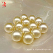 9mm natürliche Southsea Gold lose Perlen