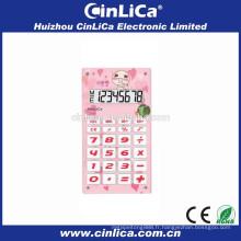 Mini calculatrice enfant à 8 chiffres avec son bibi CA-608