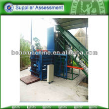 horizontal baler for waste paper