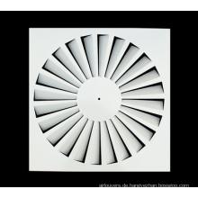 Feste Klingen Quadratischer Deckendiffusor Eisenblech-Wirbel-Diffusor
