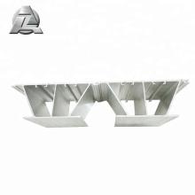 lames de terrasse ignifuges en aluminium à faible entretien pour héliport