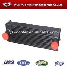 Fabricante de radiador de la excavadora de aluminio modificado para requisitos particulares