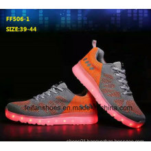 Latest High Quality Hot Selling LED Shoes Sport Shoes (FF506-5)