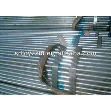 surface galvanisée à la vapeur de tube en acier