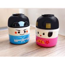 Японский стиль оптовая пластиковая коробка для завтрака Бенто для детей