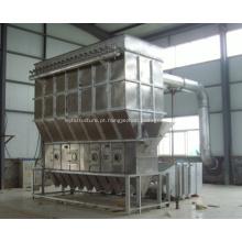 Máquinas horizontais de secagem de camas fluidas