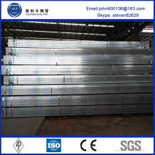 Новое прибытие оцинкованная квадратная сталь