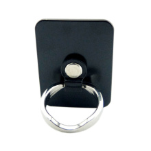 black phone ring holder Stainless steel backboard Reusable Self-Adhesive