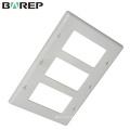 UL943 estándar BAREP GFCI platinas de cambio de luz de plástico