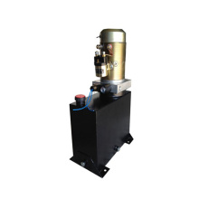 Hydraulic power unit for all electric stacking truck