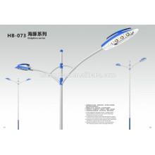 IP65 éclairage solaire extérieur LED conduit des lampadaires 90W 100W 120W BridgeLux chips rue solaire LED route lampe