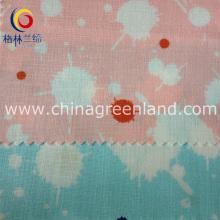 Printed Cotton Linen Fabric for Garment Shirt Dress (GLLML137)