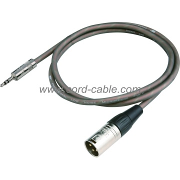 DME Serie M XLR to 3.5mm Stereo Jack Mikrofonkabel