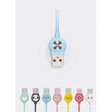 un glisser trois câble USB rapide
