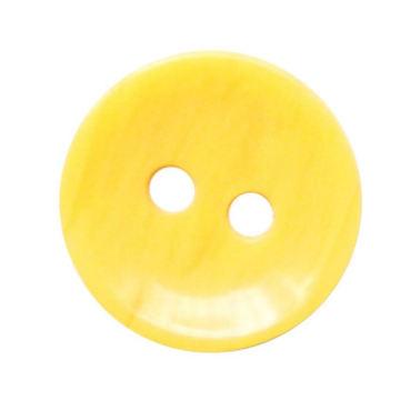 Resin Knopf mit 2-Halt, geeignet für hochwertige Hosen