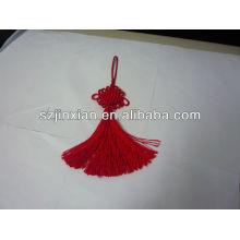 Кисточкой декор китайский узел