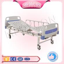 MDK-T302 Cheap Medical Equipment 2 Cranks Manual Hospital Bed Price