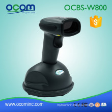 Steady Base Good-looking Laser Wireless Barcode Reader with Memory