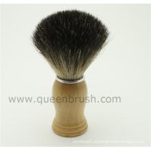 Cepillo de afeitar de pelo de calidad superior de la muestra libre
