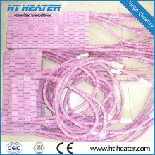 Calentador de almohadilla eléctrica de cerámica flexible